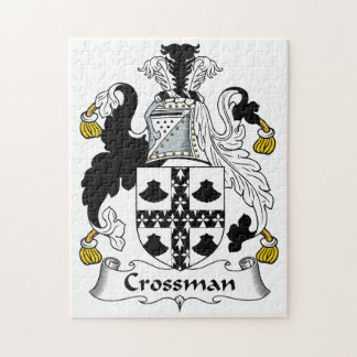 Escudo de la familia de Crossman Rompecabeza Con Fotos