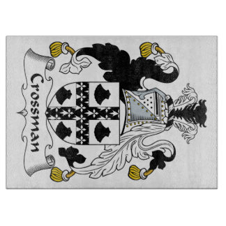 Escudo de la familia de Crossman Tablas Para Cortar
