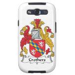 Escudo de la familia de Crothers Galaxy S3 Cobertura