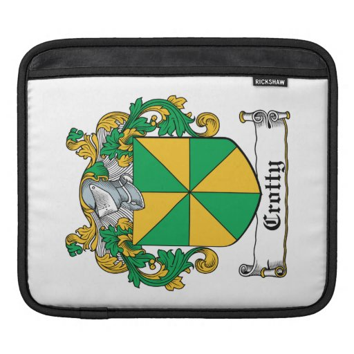 Escudo de la familia de Crotty Mangas De iPad