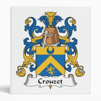 """Escudo de la familia de Crouzet Carpeta 1"""""""