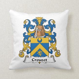 Escudo de la familia de Crouzet Cojines