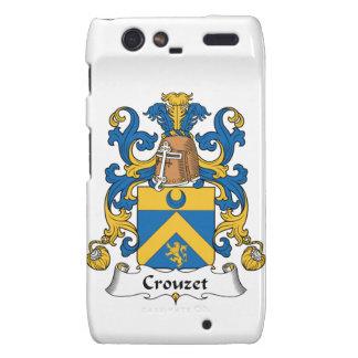 Escudo de la familia de Crouzet Droid RAZR Fundas
