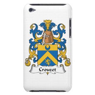 Escudo de la familia de Crouzet Case-Mate iPod Touch Fundas