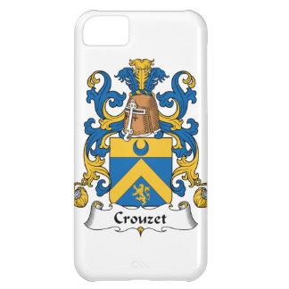 Escudo de la familia de Crouzet Funda Para iPhone 5C