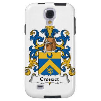 Escudo de la familia de Crouzet Funda Para Galaxy S4