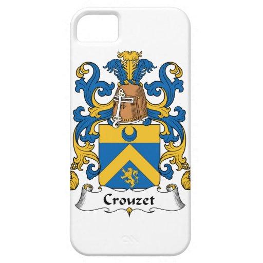 Escudo de la familia de Crouzet iPhone 5 Carcasa