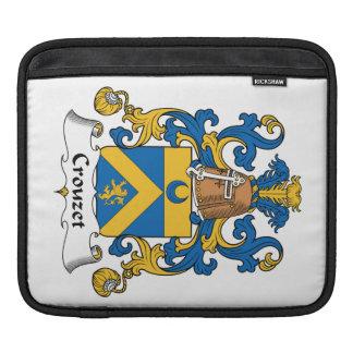 Escudo de la familia de Crouzet Mangas De iPad