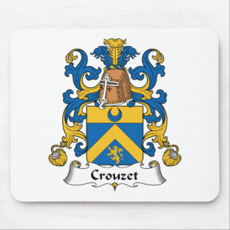 Escudo de la familia de Crouzet Mouse Pad