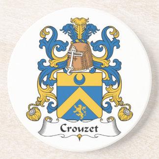 Escudo de la familia de Crouzet Posavasos Manualidades