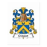Escudo de la familia de Crouzet Postal