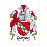 Escudo de la familia de Crowder Postal