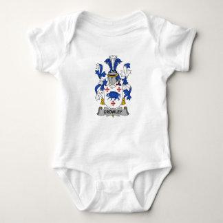 Escudo de la familia de Crowley Body Para Bebé