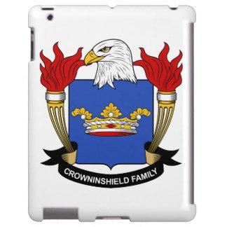 Escudo de la familia de Crowninshield Funda Para iPad