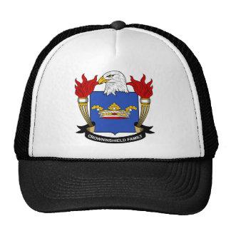 Escudo de la familia de Crowninshield Gorros