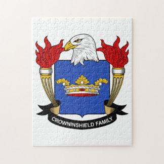 Escudo de la familia de Crowninshield Puzzle