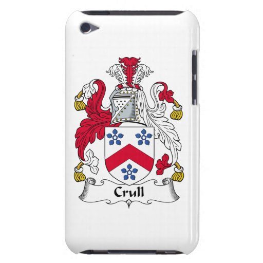 Escudo de la familia de Crull iPod Case-Mate Cárcasas