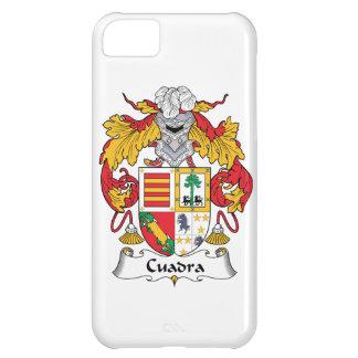 Escudo de la familia de Cuadra Funda Para iPhone 5C
