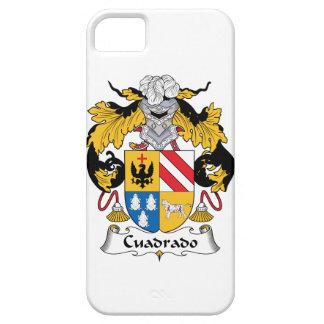 Escudo de la familia de Cuadrado iPhone 5 Funda