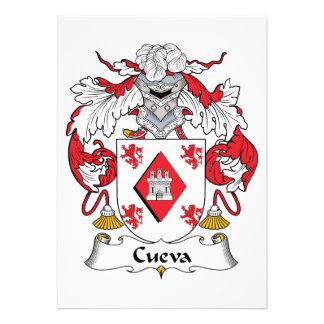 Escudo de la familia de Cueva Anuncios