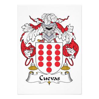 Escudo de la familia de Cuevas Anuncio