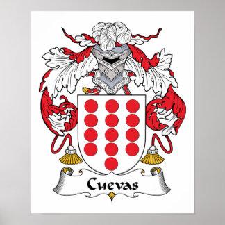 Escudo de la familia de Cuevas Impresiones