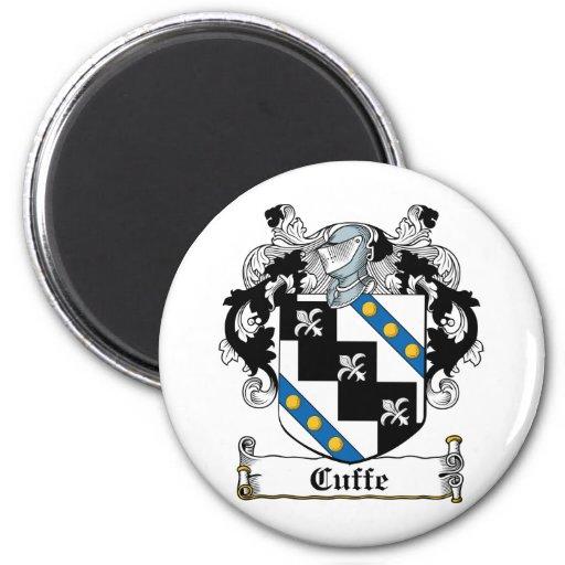 Escudo de la familia de Cuffe Imán Para Frigorifico