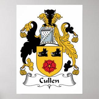 Escudo de la familia de Cullen Póster