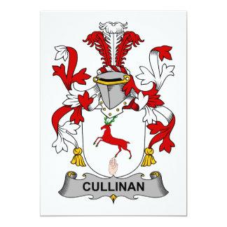 """Escudo de la familia de Cullinan Invitación 5"""" X 7"""""""