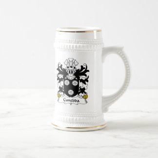 Escudo de la familia de Cunedda Jarra De Cerveza