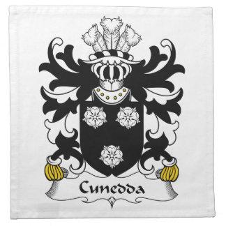 Escudo de la familia de Cunedda Servilletas De Papel