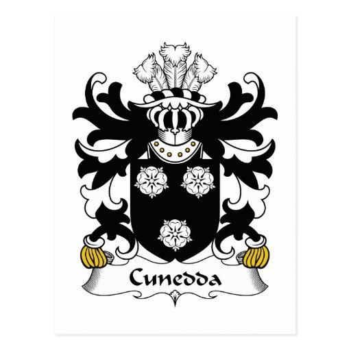 Escudo de la familia de Cunedda Tarjetas Postales