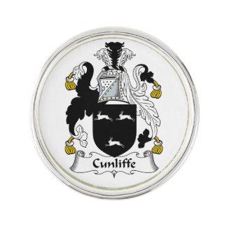 Escudo de la familia de Cunliffe Pin