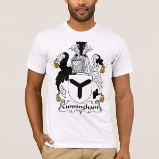 Escudo de la familia de Cunningham Playera