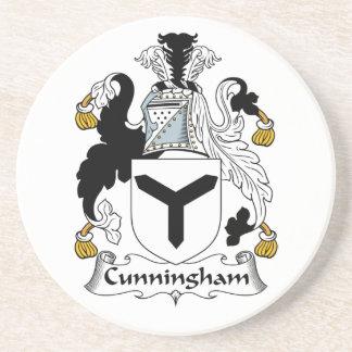 Escudo de la familia de Cunningham Posavasos Personalizados