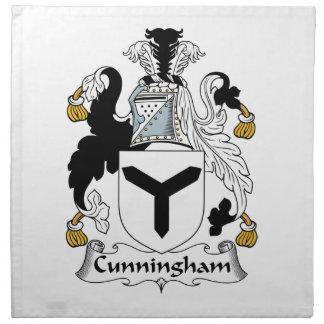 Escudo de la familia de Cunningham Servilletas De Papel