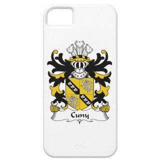 Escudo de la familia de Cuny iPhone 5 Case-Mate Carcasas