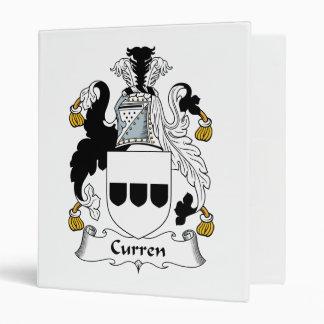 Escudo de la familia de Curren