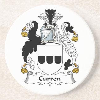 Escudo de la familia de Curren Posavasos Manualidades