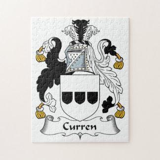 Escudo de la familia de Curren Puzzles