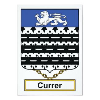 Escudo de la familia de Currer Comunicado