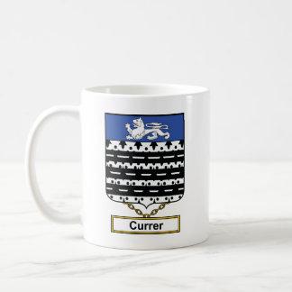 Escudo de la familia de Currer Taza
