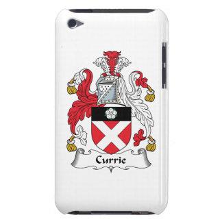 Escudo de la familia de Currie iPod Touch Case-Mate Funda