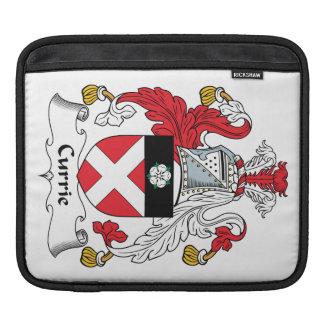 Escudo de la familia de Currie Funda Para iPads