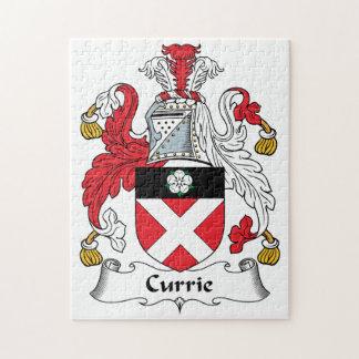 Escudo de la familia de Currie Puzzles Con Fotos