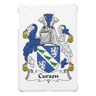 Escudo de la familia de Curson iPad Mini Fundas