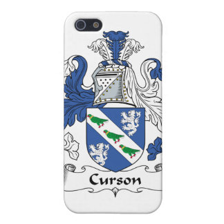 Escudo de la familia de Curson iPhone 5 Cobertura