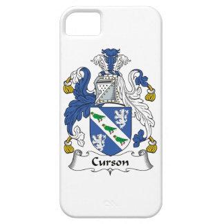Escudo de la familia de Curson iPhone 5 Coberturas