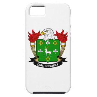 Escudo de la familia de Curtin iPhone 5 Case-Mate Coberturas