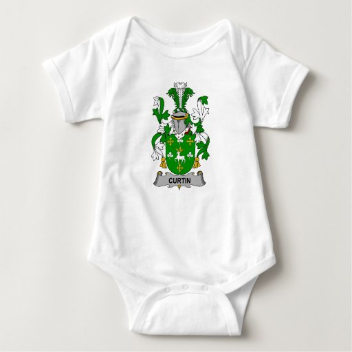 Escudo de la familia de Curtin T-shirt